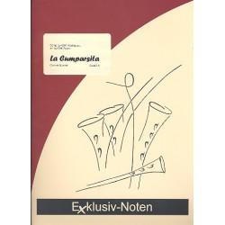 Matos Rodriguez, Gerardo Hernan: La cumparsita : für 4 Klarinetten (3 Klarinetten und Bassklarinette) Partitur und Stimmen