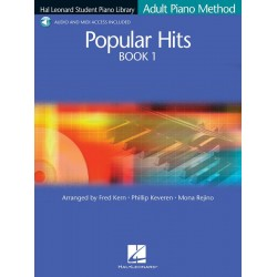 Popular Hits vol.1 (+CD) : for piano (with text)