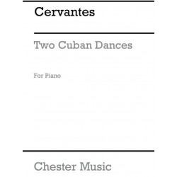 Cervantes, Ignacio: 2 Cuban Dances: for piano