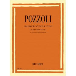 Pozzoli, Ettore: Solfeggi cantati à 2 voci