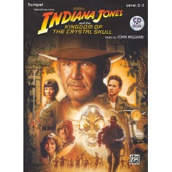 Williams, John *1932: Indiana Jones and the Kingdom of the crystal Skull (+CD) : for trumpet