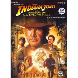 Williams, John *1932: Indiana Jones and the Kingdom of the crystal Skull (+CD) : for clarinet