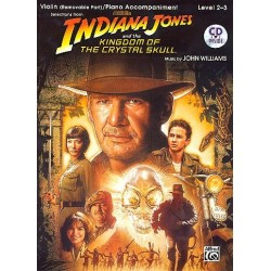 Williams, John *1932: Indiana Jones and the Kingdom of the crystal Skull (+CD) : for violin and piano