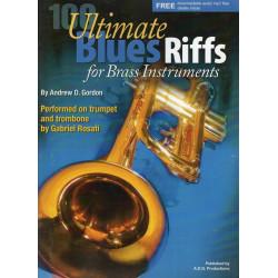 Gordon, Andrew D.: Blues Riffs(+CD): for brass instruments