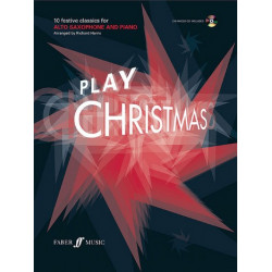 Play Christmas (+CD) : for alto saxophone and piano