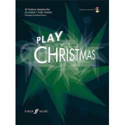 Play Christmas (+CD) : for clarinet and piano