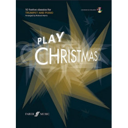 Play Christmas (+CD) : for trumpet and piano