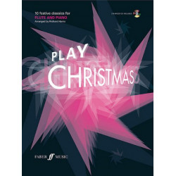 Play Christmas (+CD) : for flute and piano