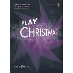Play Christmas (+CD): for violin and piano
