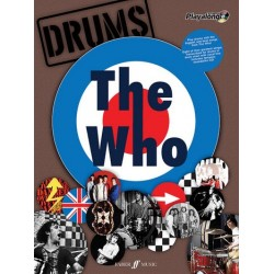 The Who (+CD) : Authentic drums playalong songbook vocal/drums