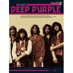 Deep Purple (+CD) : Authentic Drums Playalong Songbook vocal/drums
