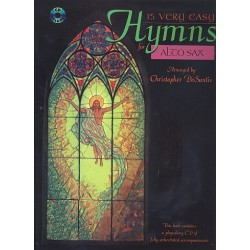 15 very easy Hymns (+CD) : for alto saxophone