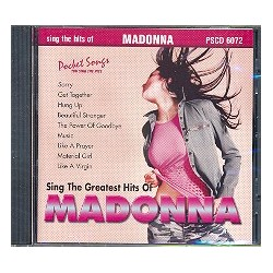 You sing the Hits of Madonna : Playback-CD