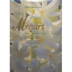 Mozart, Wolfgang Amadeus: Quintet in Eb Major KV452 for piano, oboe, clarinet, horn and bassoon : Playback-CD for bassoon