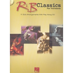 R&B Classics (+CD) : for trombone