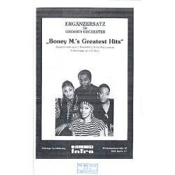 Farian, Frank: Boney M.'s greatest Hits (Potpourri): Ergänzungsstimmen für großes Orchester