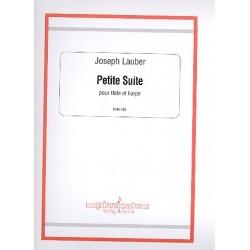 Lauber, Joseph: Petite suite : pour flute et harpe