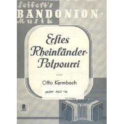 Erstes Rheinländer-Potpourri : für Bandoneon