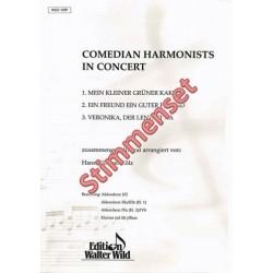 Comedian Harmonists in Concert : für Akkordeonorchester Stimmenset (4-4-5-3)