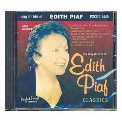 You sing the Hits of Edith Piaf : Playback-CD