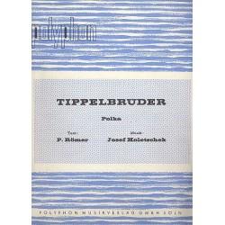 Holetschek, Josef: Tippelbrüder : für Klavier (mit Text und Akkordeon)