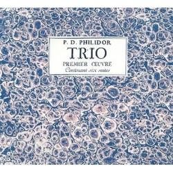 Danican Philidor, Pierre: Trio op.1 contenant 6 suites : Faksimile
