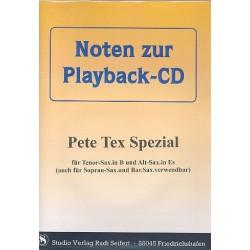 Pete Tex Spezial (+CD) : für alle Es- und B-Instumente