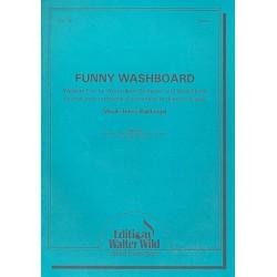Waldvogel, Heinz: Funny Washboard für Waschbrett und Akkordeonorchester Partitur