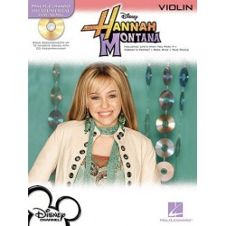 Hannah Montana (+CD) : for violin