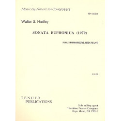 Hartley, Walter S.: Sonata euphonica : for euphonium and piano (1979)