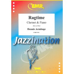 Armitage, Dennis: Ragtime : f├╝r 1-2 Klarinetten und Klavier