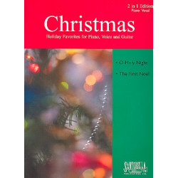2 Christmas Favorites : for piano/vocal/guitar