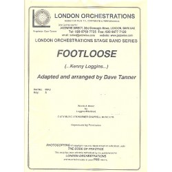 Loggins, Kenny: Footloose: for vocals and jazz ensemble parts