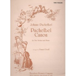 Pachelbel, Johann: Canon for 2 violins and piano