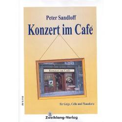 Sandloff, Peter: Konzert im Café: für Combo Partitur und Stimmen