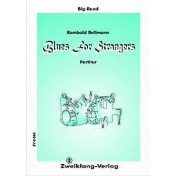 Bellmann, Rambald: Blues for Strangers : f├╝r Big Band Direktion und Stimmen