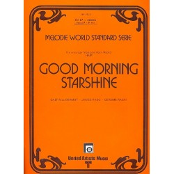 MacDermot, Galt: Good Morning Starshine : für Klavier (mit Text/B-Stimme/Akkorden)