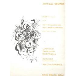 Tavernier, Jean-Claude: 2 Duos vol.1 : pour percussion partition