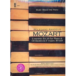 Mozart, Wolfgang Amadeus: Concerto in F Major KV459 no.19 for piano and orchestra (+ 2 CD's) : for 2 pianos, score