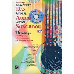 Jagla, Bernd: Garantiert Gitarre lernen - Das Audio Songbook : CD mit kleinem Begleitheft