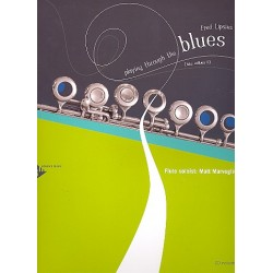 Lipsius, Fred: Playing through the Blues (+CD) : for flute