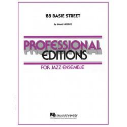 Nestico, Sammy: 88 Basie Street: for jazz ensemble score and parts