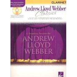 Lloyd Webber, Andrew: Andrew Lloyd Webber Classics (+CD) : for clarinet