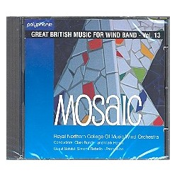 Mosaic CD Great British Music for Wind Band vol.13
