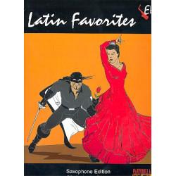 Latin Favorites : for alto saxophone