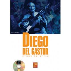 Del Gastor, Diego: Etude de style (+CD) : pour guitare/tab (frz)