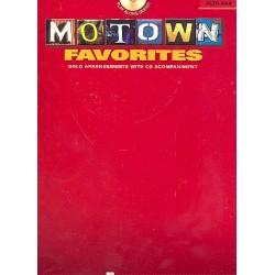 Motown Favorites (+CD) : for alto saxophone