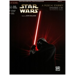 Williams, John *1932: Star Wars Episodes 1-6 (+CD) : for violin and piano
