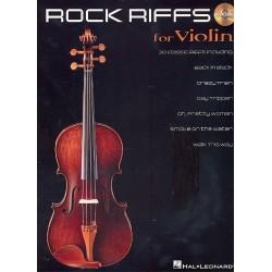 Rock Riffs (+CD) : for violin