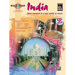 Jain, Sunny: Drum Atlas - India (+CD) : for drum set